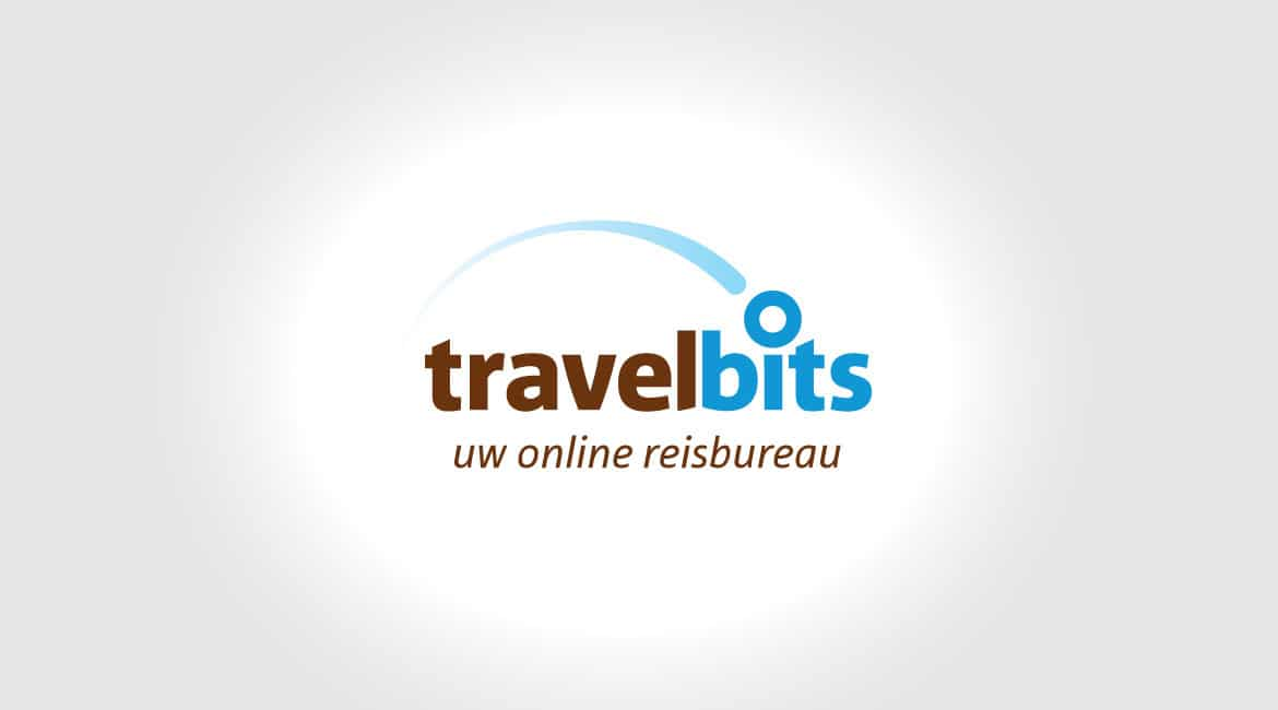 travelbits logo website design